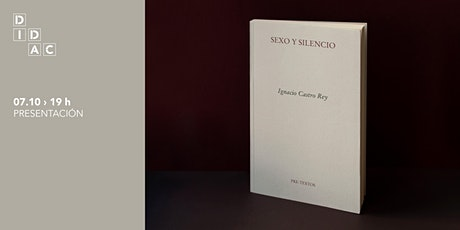 """Presentación do libro """"Sexo y silencio"""" entradas"""
