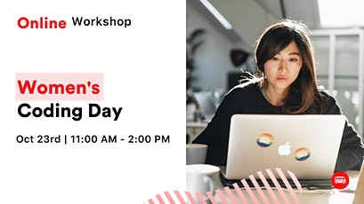 Women's Coding Day - Learn to code for free in October! tickets