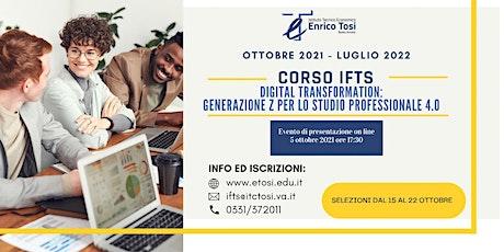 DIGITAL TRANSFORMATION: generazione z per lo studio PROFESSIONALE 4.0 biglietti