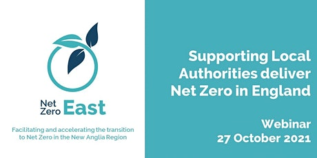 Supporting Local Authorities to deliver Net Zero in England tickets