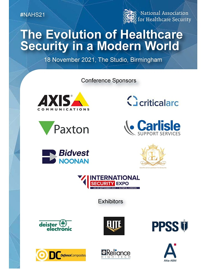 National Association for Healthcare Security - Annual Conference and Awards image