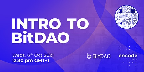 Intro to BitDAO tickets