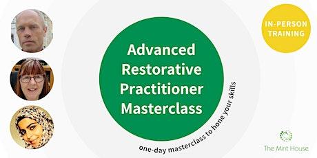 Advanced Restorative Practitioner Masterclass tickets