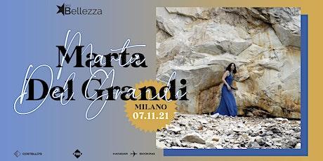 Marta del Grandi biglietti