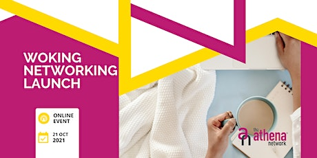 Launch of The Athena Network Woking Group - Online Virtual Networking tickets