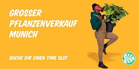 Großer Pflanzenverkauf - München Tickets