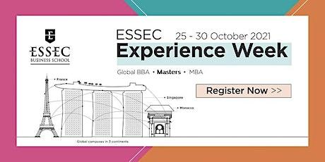 ESSEC Experience Week 2021 (Masters) entradas
