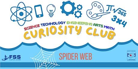 Curiosity Club: Spider Web tickets