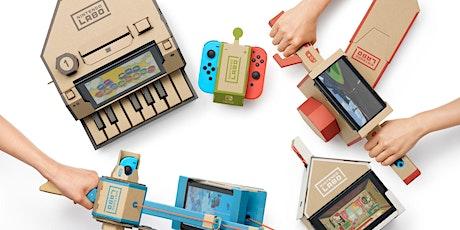 Herfstvakantie ExperienceLab: Bouwen met Nintendo Labo tickets