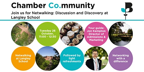 Netwalking: Discussion and Discovery at Langley Park tickets
