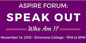 ASPIRE Speak Out Forum: Who Am I?