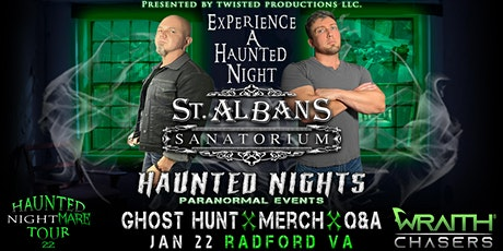 Experience A Haunted Night with The Wraith Chasers at St Albans Sanatorium tickets