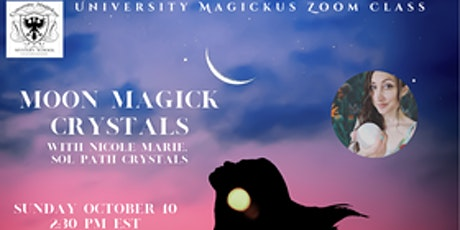 Moon Magick Crystals with SolPath Crystals tickets