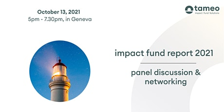 Impact Fund Report 2021 - Discussion & Networking billets