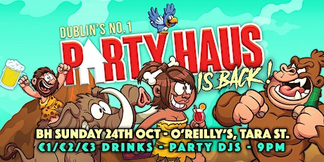 O'Reilly's | Nightlife Re-Opening Weekend | BH Sunday 24th Oct tickets
