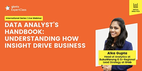 [GEC] Data Analyst's Handbook: Understanding How Insight Drive Business tickets