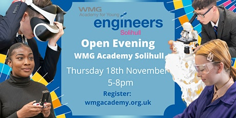 Open Evening - WMG Academy Solihull tickets