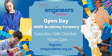 Open Day - WMG Academy Coventry tickets