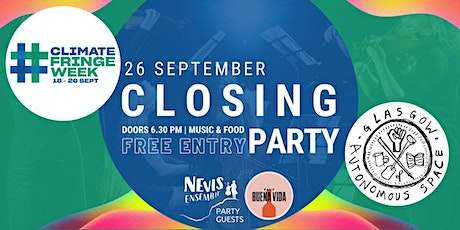 Climate Fringe Week Closing Party tickets