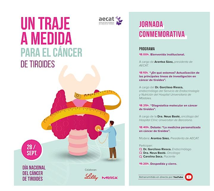Imagen de Jornada Online del Día Nacional del Cáncer de Tiroides
