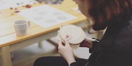 Christmas Hoop Embroidery Workshop tickets