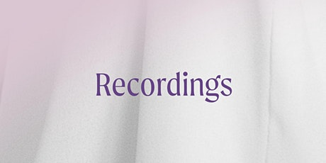 Yoga Nidra RECORDINGS - A practice to come home to your Self tickets