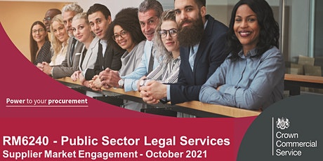 Public Sector Legal Services: Supplier Market Engagement Workshop tickets