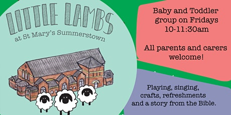 Copy of Little Lambs Baby and Toddler Group tickets