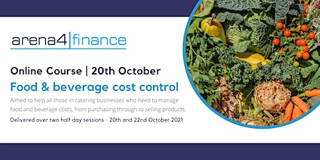 Food and Beverage Cost Control tickets