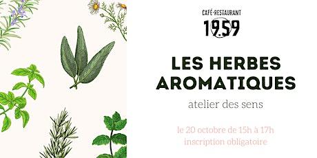 Atelier des sens : les herbes aromatiques billets