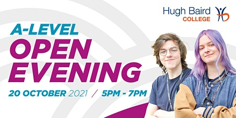 A-level Open Evening tickets