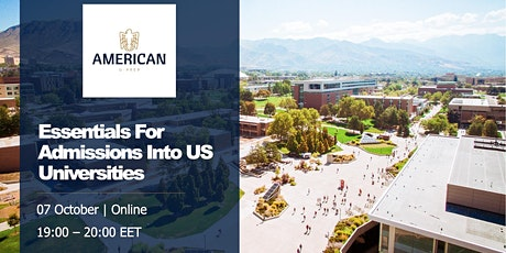 Essentials For Admissions To US Universities tickets