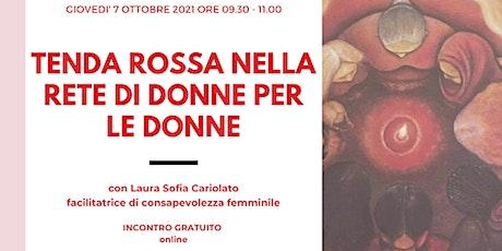 Tenda Rossa nella Rete di Donne per le Donne - ottobre biglietti