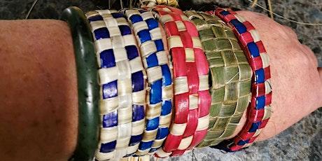 Harakeke - Flax weaving - Bracelets tickets
