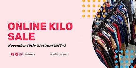 KILOGARM BLACK FRIDAY ONLINE KILO SALE NOVEMBER  7PM GMT+1 tickets