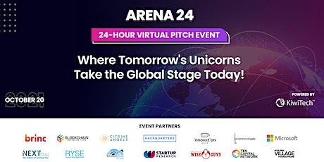 ARENA 24: 24-Hour Virtual Pitch Event entradas
