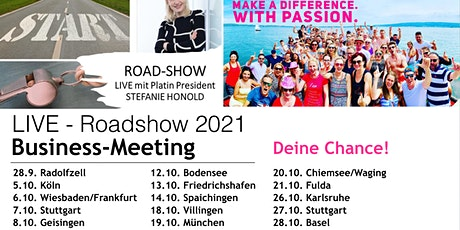 ROADSHOW- BUSINESSMEETING /KÖLN Tickets