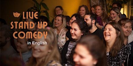 Strasbourg English Comedy Night billets