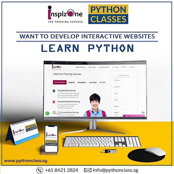 Best Python Web Development Course Singapore - Python Classes image