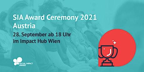SIA Österreich 2021 - Award Ceremony Tickets