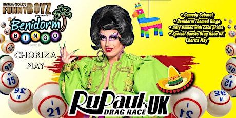 Spanish Party with RuPaul's Drag Race UK Choriza May tickets