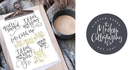 Beginners Pointed Nib Calligraphy - Workshop tickets