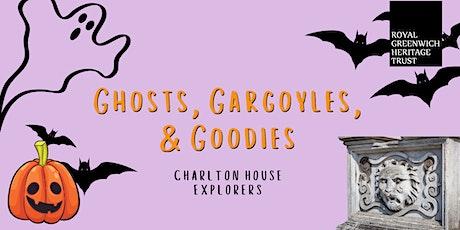 Ghosts, Gargoyles, and Goodies (Charlton House Explorers) tickets