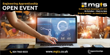 MGTS Open Event for Engineering Apprenticeships tickets