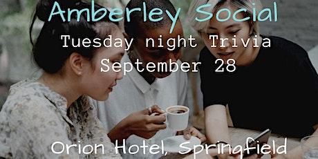 Amberley Social   Tuesday night Trivia tickets
