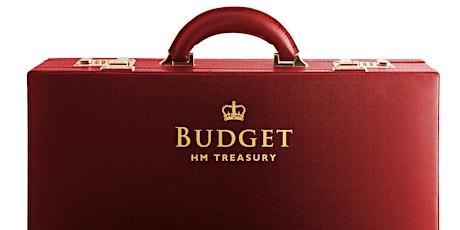 Online Autumn Budget Webinar 2021 tickets