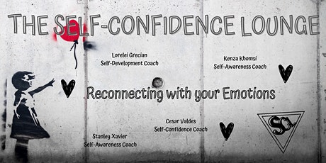 The Self-Confidence Lounge - Reconnecting with your emotions tickets