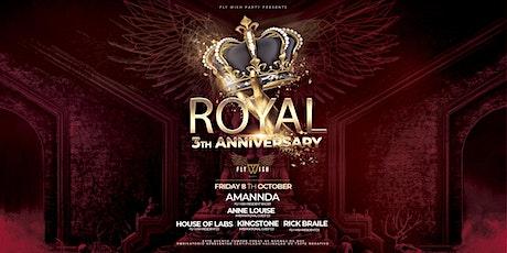 Fly Wish Royal 3th Anniversary bilhetes