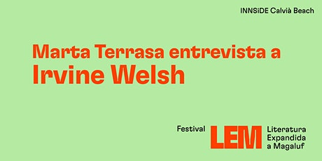 Irvine Welsh entrevistado por Marta Terrasa tickets