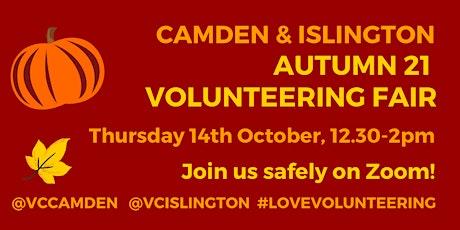 Camden and Islington October 2021 Volunteering Fair tickets